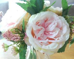 造花を飾る部屋作り