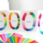 パーソナルカラー診断カラーカード