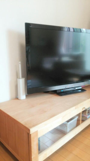 テレビのほこり