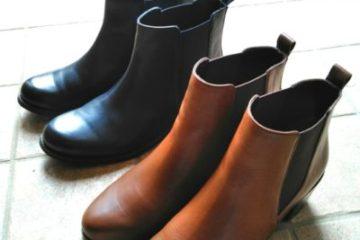靴の衣替え
