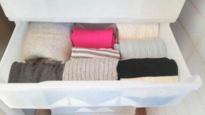 一度着た服の収納法